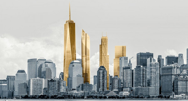 Nowe One World Trade Center, New York, USA - Wzmocniony system połączeń